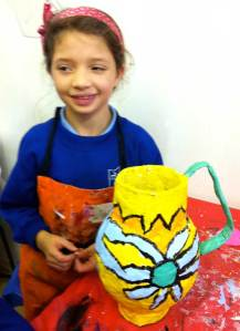 Paper maché crafts
