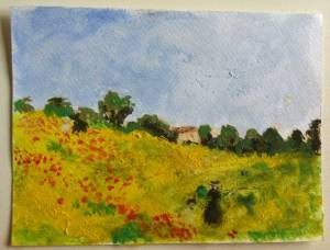 Impressionist painting for kids